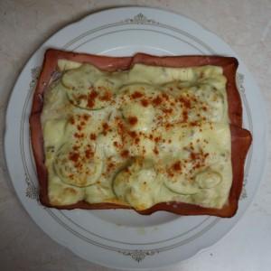 Teller Toast Spezial
